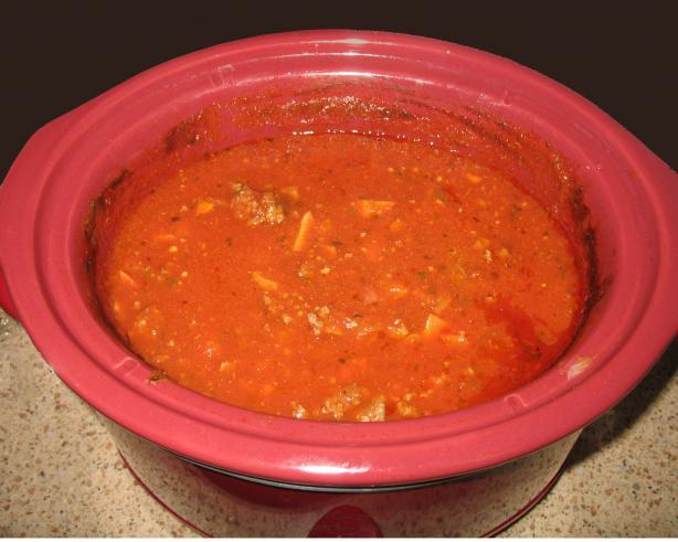 Grandma's Italian Spaghetti Sauce