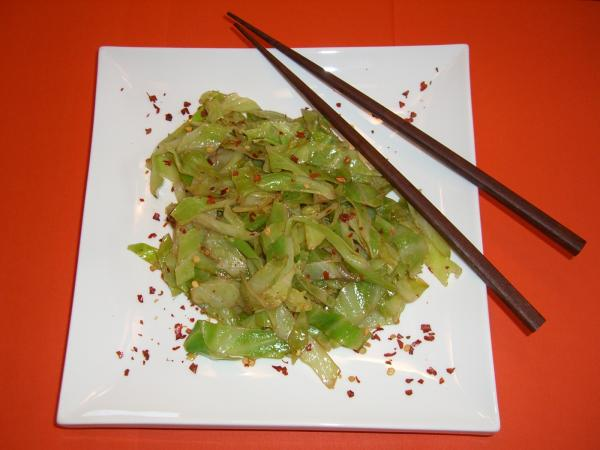 Spicy Geisha Cabbage