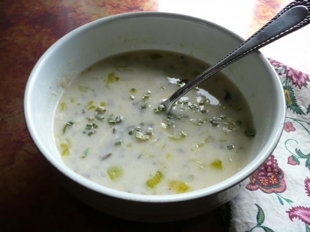 Sherried Wild Rice Soup