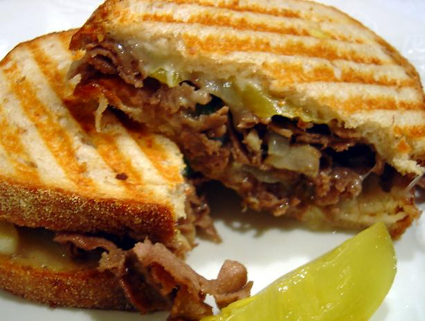 Cheesesteak Panini