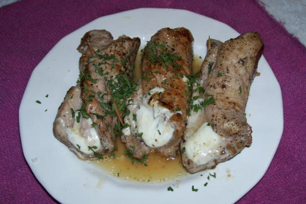 Makedonska Brzola (Pork Stuffed With Cheese)