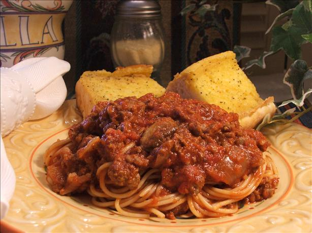 Hearty Homemade Italian Spaghetti Sauce