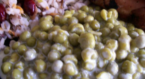 Parmesan Peas