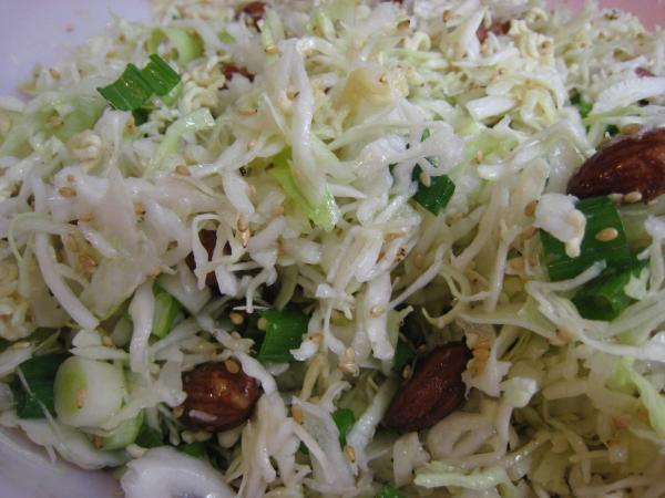 Cabbage Almond Salad