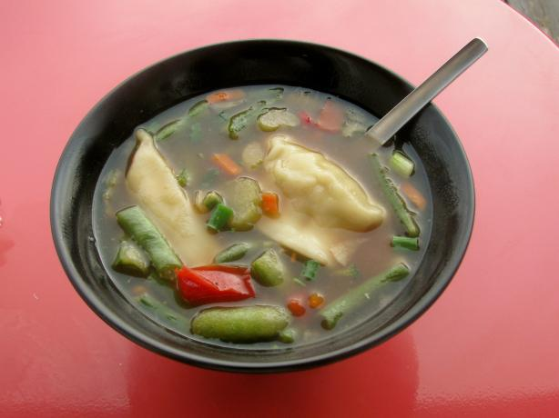 Ling Ling Pot Sticker Soup
