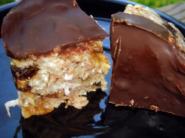 Yummy Banana- Oat Bars