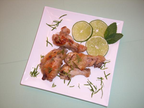 Mint Mojito Chicken Wings