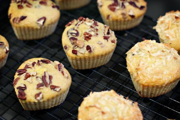 Cherry Banana Muffins