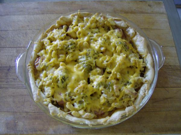 Chili Dog Pie