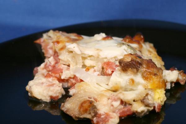 Crustless Tomato Quiche