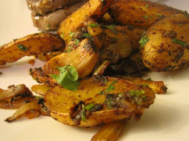 Latin Roasted Fingerling Potatoes