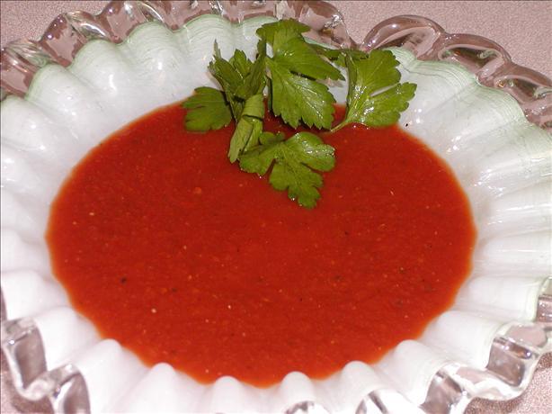 Velvety Tomato Wine Sauce