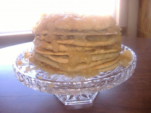 Great Grandma Effie's Old Fashioned Stack Cake