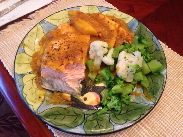 Sweet N'spicy Mango Salmon