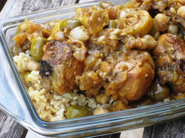 Tzipporah's Moroccan Chicken