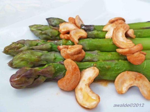 Asparagus and Cashews