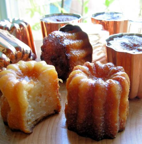 Canelés De Bordeaux - French Rum and Vanilla Cakes