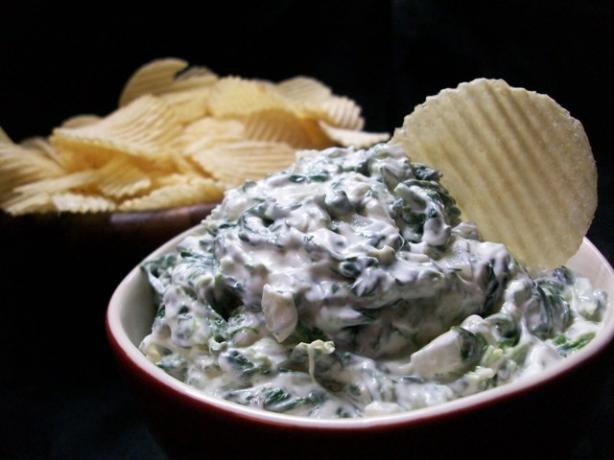 Low Fat Spinach Onion Dip
