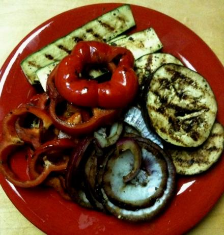 Barbecued Grilled Vegetables