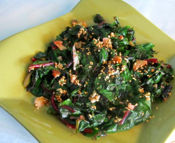 Asian Sauteed Spinach