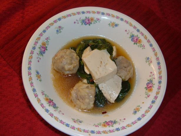 Pork Shumai Soup