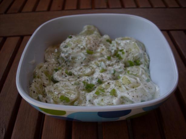 Annie's Creamy Cucumbers