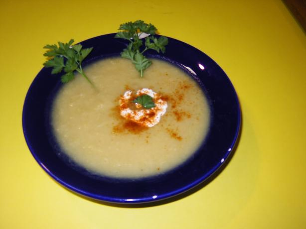 Gingered Parsnip & Leek Soup