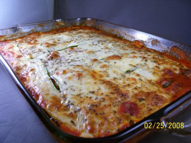 Veggie Lasagana (No Noodles)