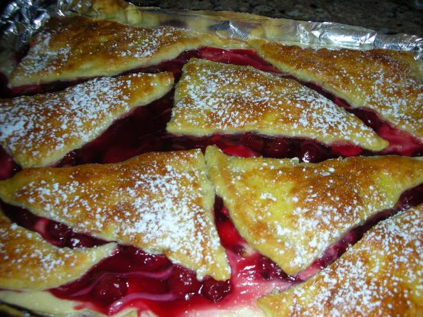 Cherry Cheese Danish for a Crowd