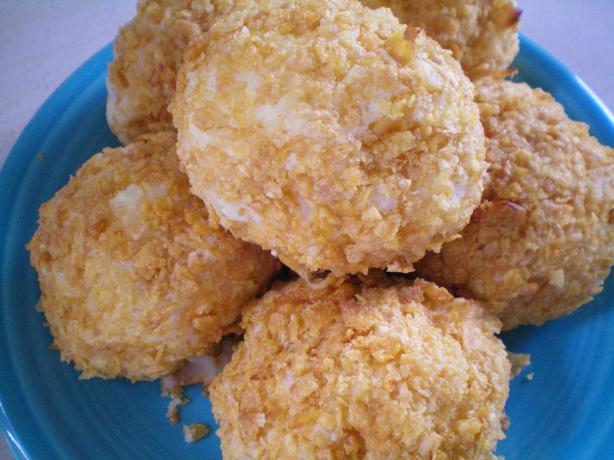 Crunchy Potato Cheese Balls