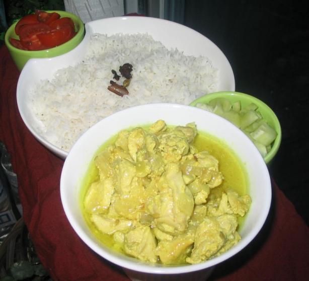 Ghurka Chicken Cardamom Curry - Kukhra Alainchi Sanga