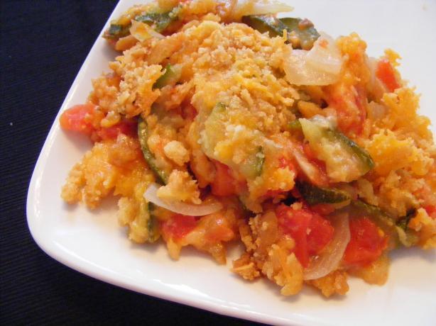 Mama's Spicy Zucchini Casserole