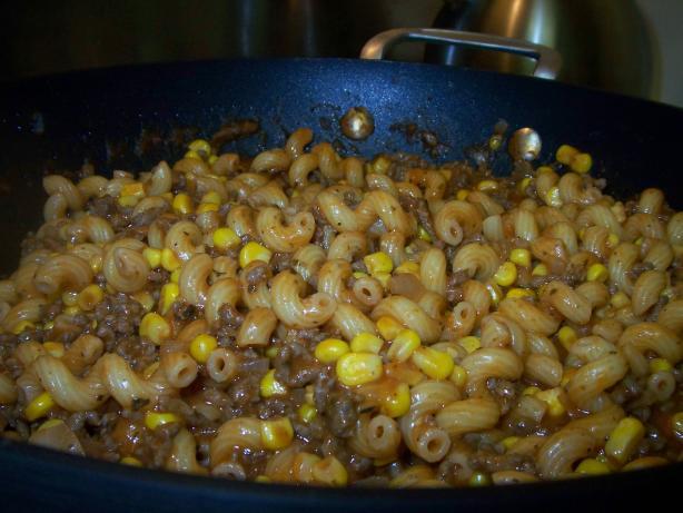 Skillet Mac 'n' Beef