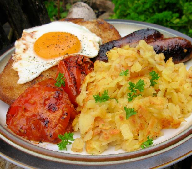 Brian Turner's Big Brekkie (Swiss, German and English!)