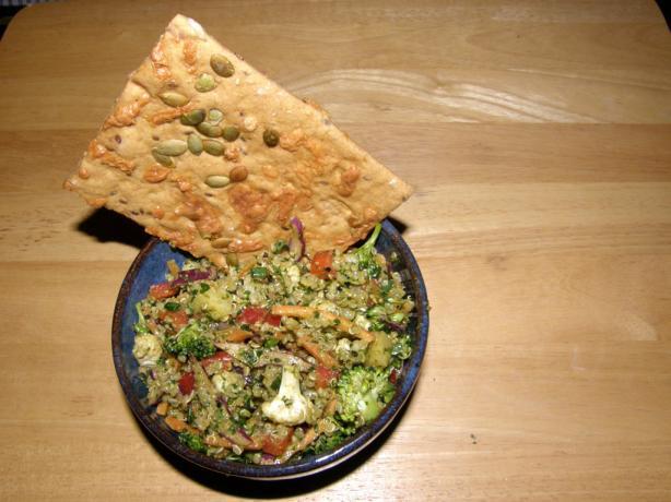 Zesty Confetti Salad With Quinoa