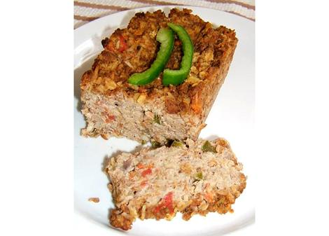 Vegan Meatless-Loaf With Seitan