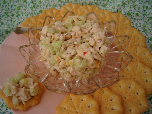 Lemon-Rosemary Chicken Salad Topper