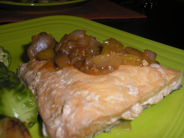 Beer Poached Salmon