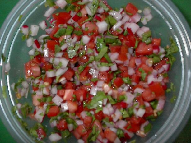 Chimol (Salvadoran Radish Salsa)