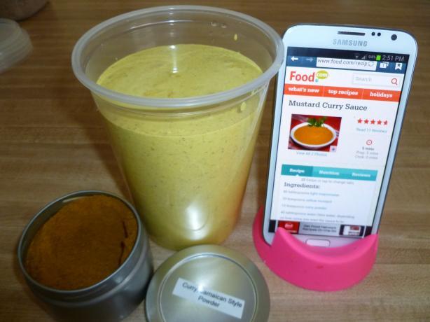 Mustard Curry Sauce
