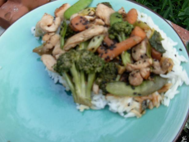 Christopher's Teriyaki Stir Fry