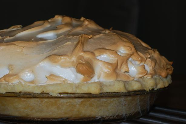 Blue Ribbon Mile High Lemon Meringue Pie
