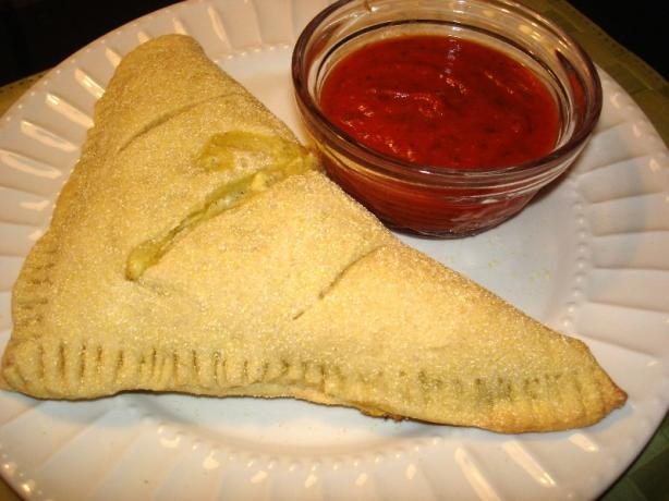 Spinach & Cheese Calzones