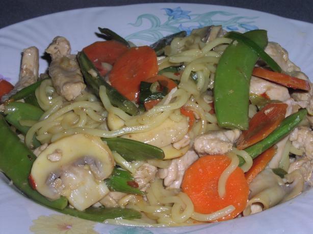 Pheasant and Vegetable Stir Fry
