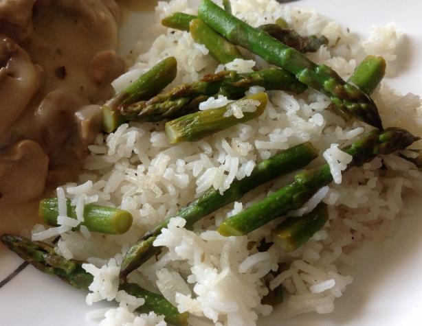 Asparagus Pilaf Rice