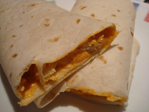 Kellymac's Buffalo Chicken Burritos