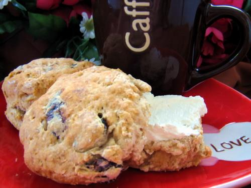 Fig and Ginger Scones