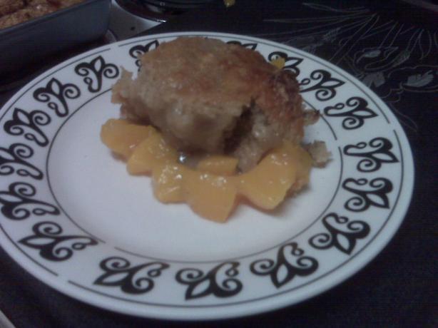 Camie's Easy Peach Cobbler