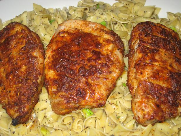 Boneless Pork Chops With Spicy Rub