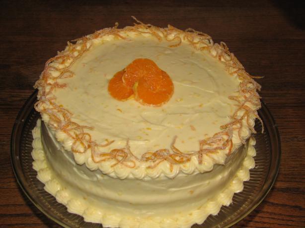 Fresh Tangerine Cake